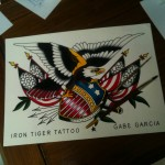 Tattoos by Gabe Garcia Iron Tiger Tattoo Columbia Mo