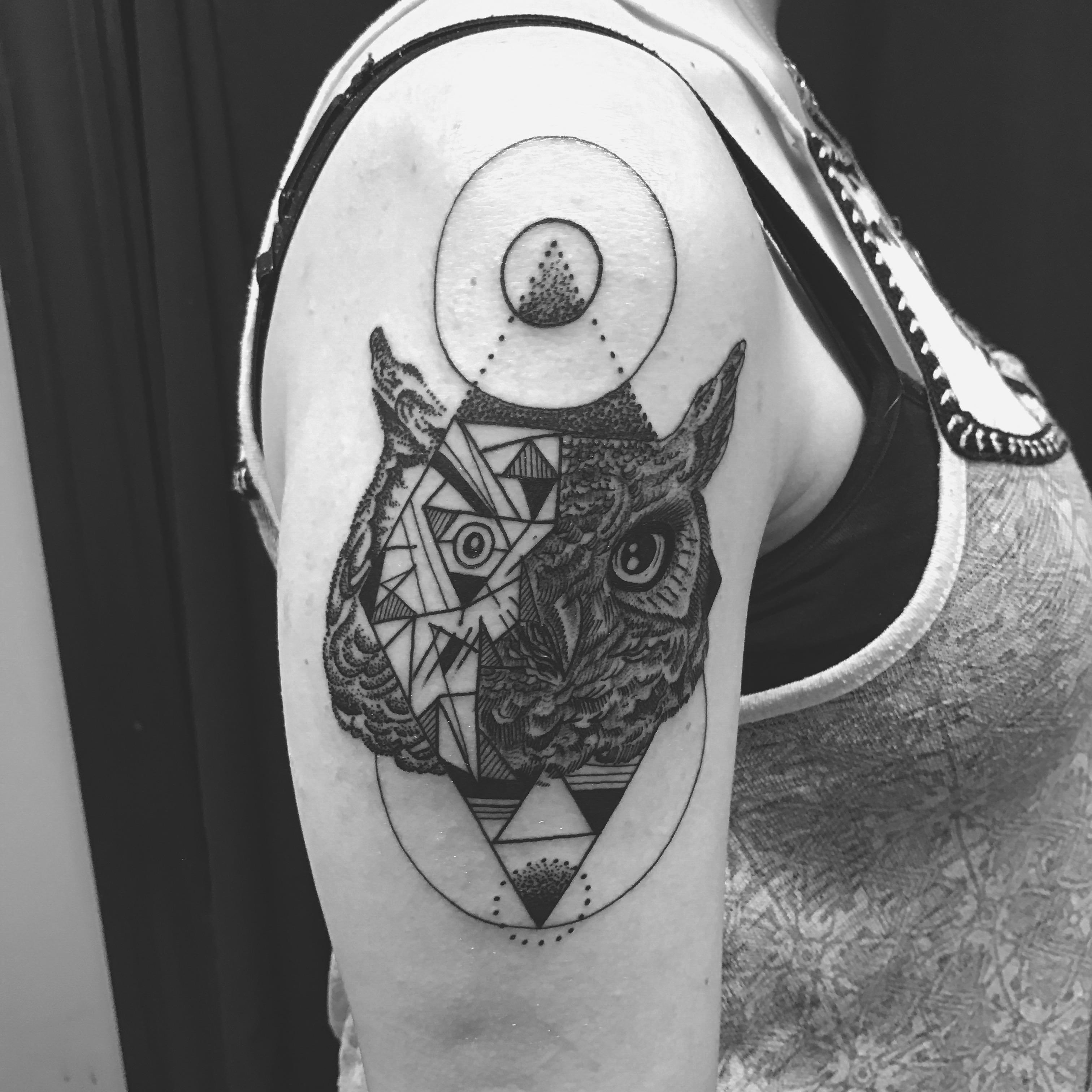 Apache Colin Iron Tiger Tattoo